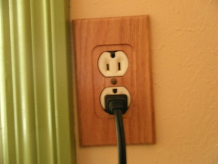 Might as well make the outlet match