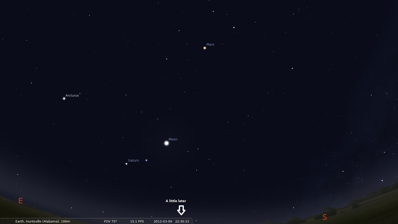 The Perfect Night For Naked Eye Astronomy 171 The Odd