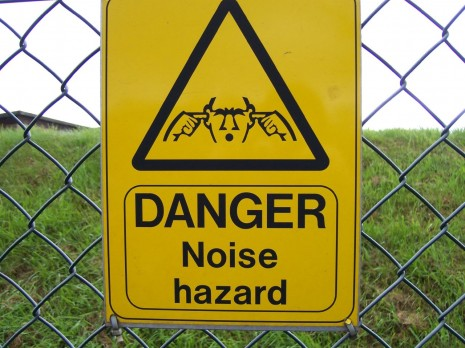 Danger noise hazard